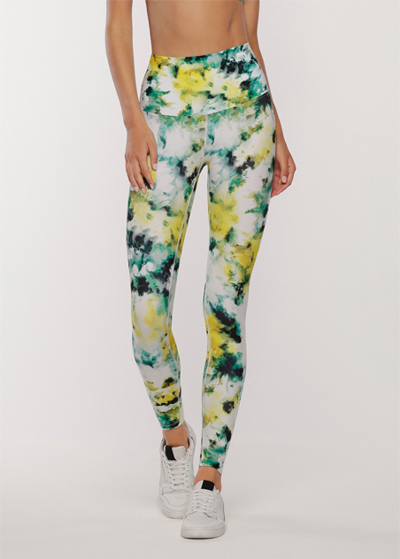 Grunge Tie Dye Full Length Leggings