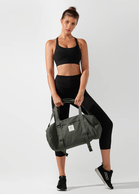 Washed Yoga Duffle Bag
