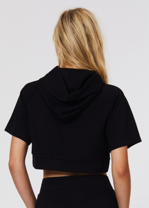 Double Play Cropped Hoodie